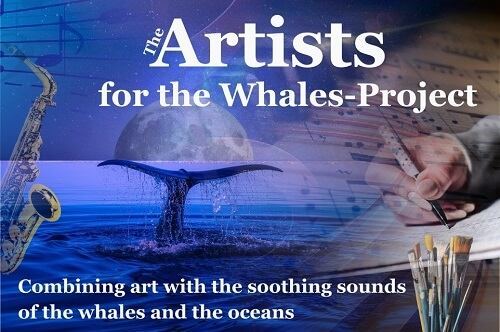 Artists for whales, whales, artists